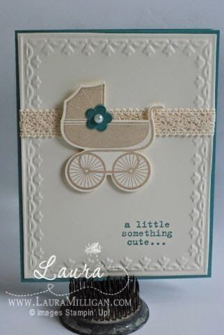 """Laura Milligan, Stampin' Up! Demonstrator - I'd Rather """"Bee"""" Stampin!: Something for Baby"""