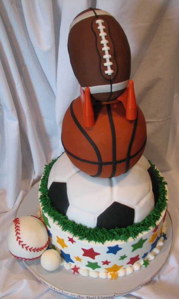 Sports cake recipes