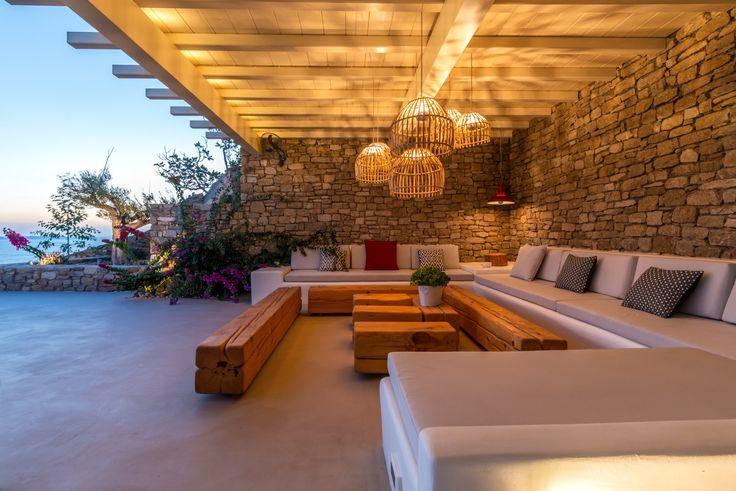 Iris Villa at Fanari Mykonos, Aegean's well-kept secret, Georgia Papadon | Classy and fabulous way of living