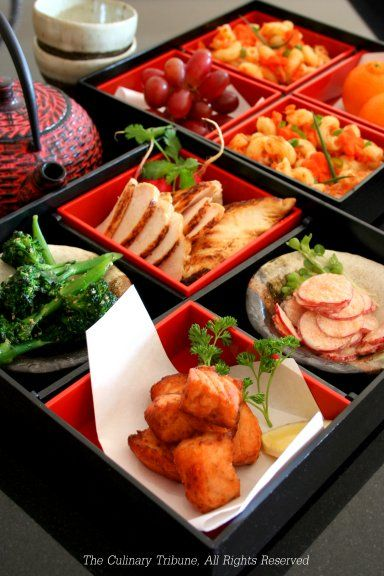 Happy New Year!! New Year Lunch Japanese Bento.