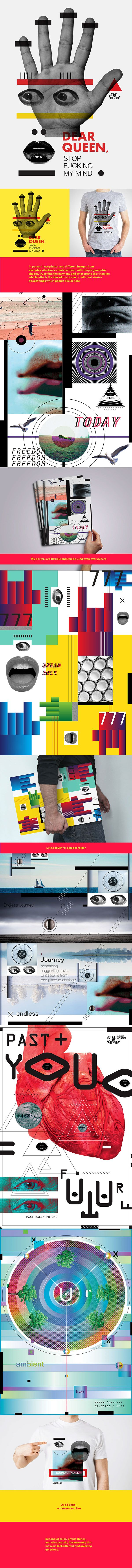 Free Posters on Behance