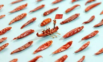Las fabulosas miniaturas que nos sorprenderán a diario de Tatsuya Tanaka