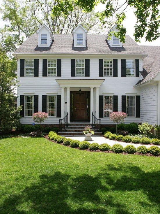 Yellow House Red Door Black Shutters 119 best white house/black shutters images on pinterest | home