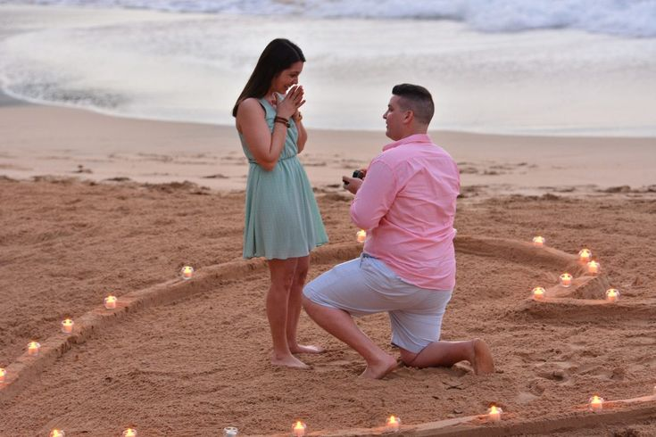 This beach proposal in St. Lucia is basically every girl's dream!