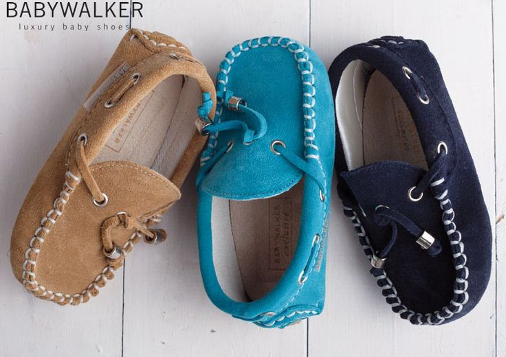 Continuing! ss2015 suede summer mocassins by Babywalker