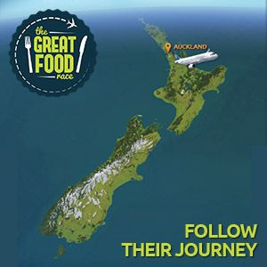 Follow The Great Food Race Journey