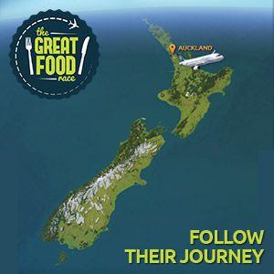 Follow The Great Food Race Journey