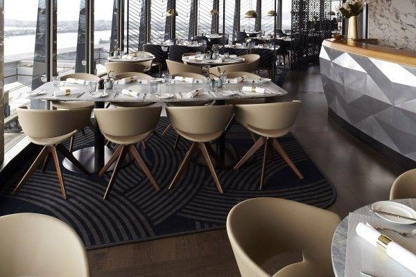 Sky City - The Sugar Club Custom Design Aximinster Carpet Desgined by Irvine Flooring