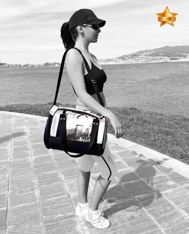 SAM-L CITY, luxury premium fashion sport bags for women#sport #sportfashion #sporty #fashion #sportbag #urban #fitness #gym #sportwear