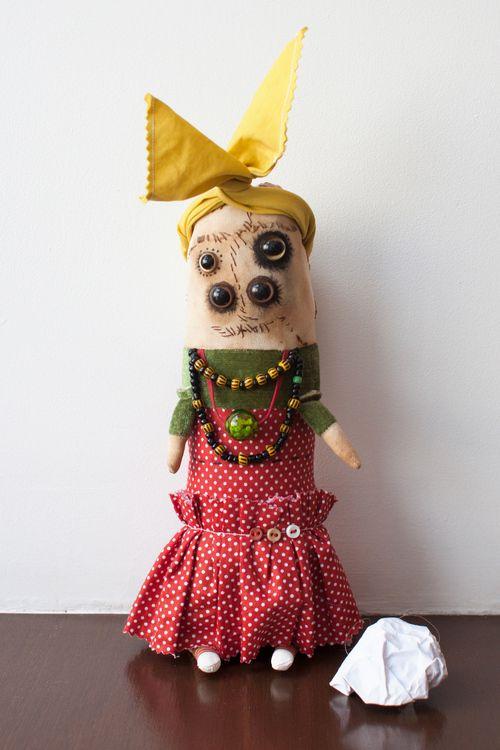 Похороны Великой Мамы #doll #кукла #dolls #art #artdoll