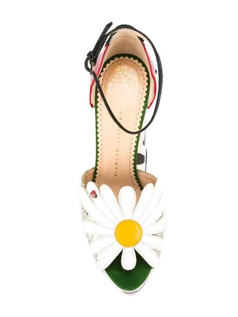 CHARLOTTE OLYMPIA Daisy Sandals. #charlotteolympia #shoes #sandals