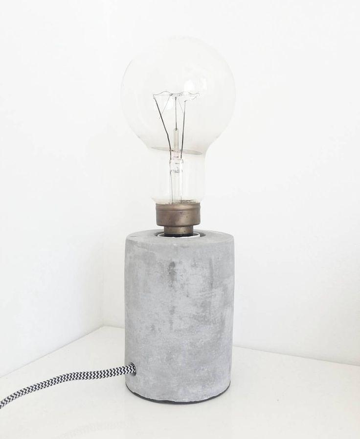 45 vind-ik-leuks, 5 reacties - Annika van der Luit (@annluit) op Instagram: 'Deze mooie betonnen lamp kocht ik afgelopen weekend bij @kwantum_nederland  de mooie grote antieke…'