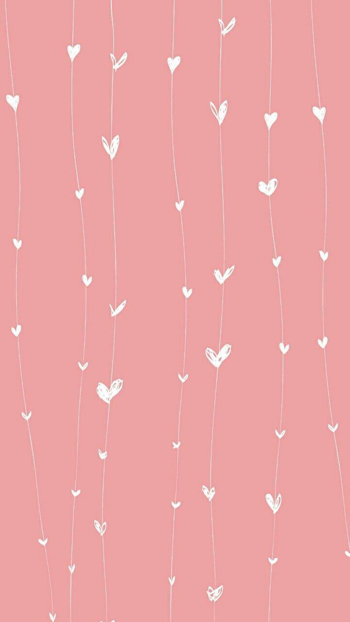 Cute Wallpaper Heart Pink Iphone Vertical Phone Background Background Wallpaper Iphone Cute Cute Wallpaper For Phone Backgrounds Phone Wallpapers