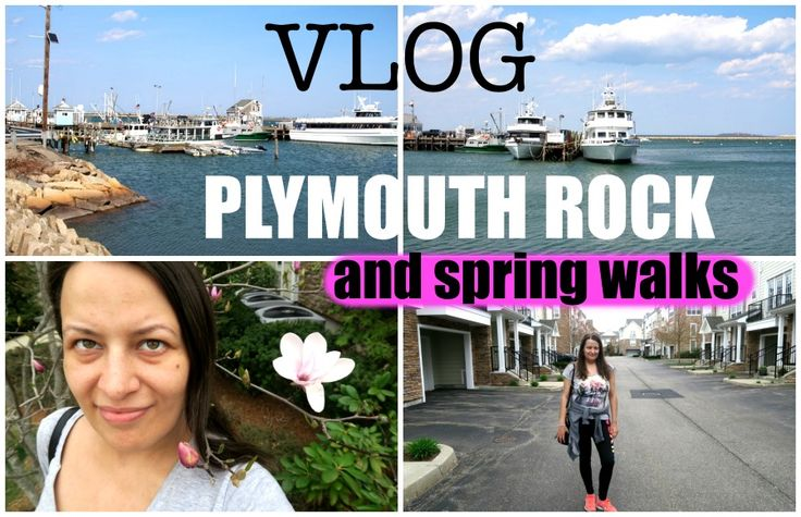 lifestyle: Plymouth Rock, spring walks-vlog