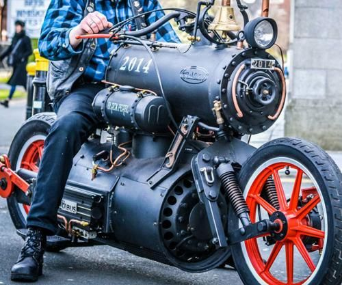 Admit It On Bikes Steampunk Motorcycle Motorcycle