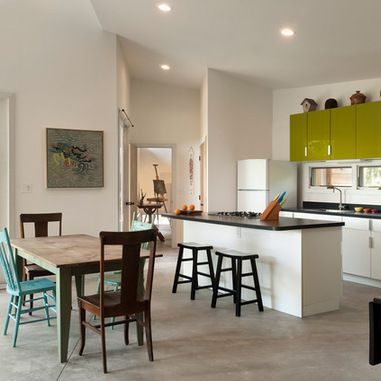 White With Olive Green Cabinets Kitchen Ideas Pinterest Kitchens Contemporary And Interiors