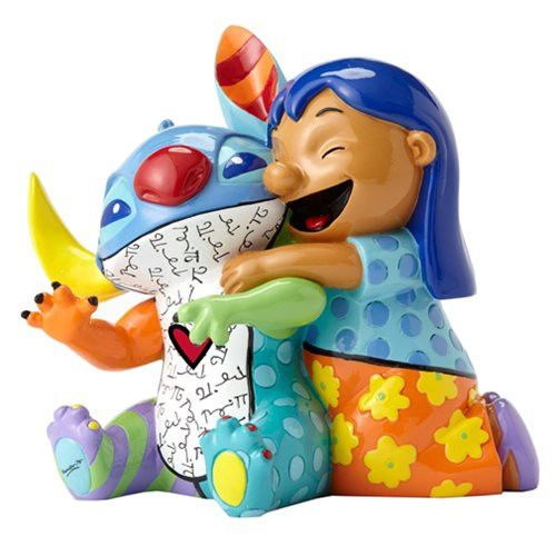 Disney Lilo and Stitch Statue by Romero Britto