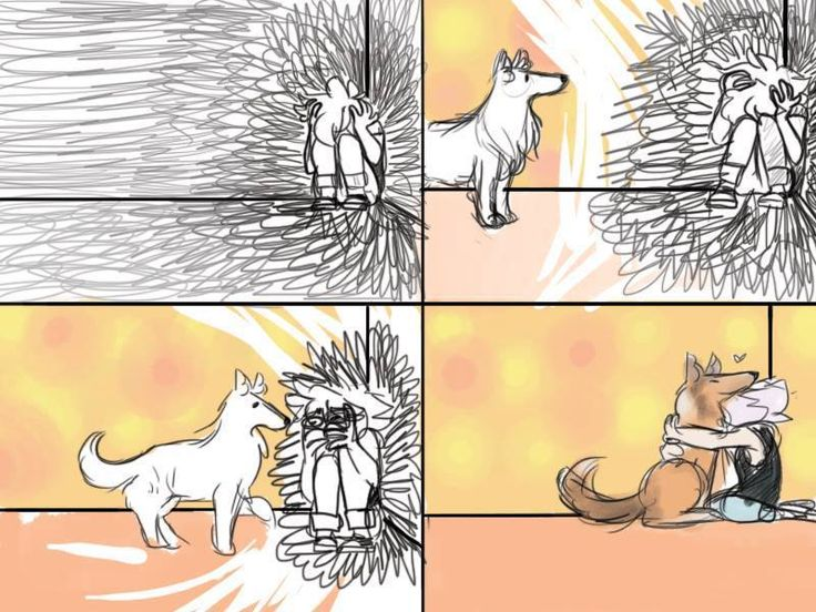 Service Dog Illustration