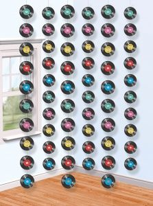 1960S Theme Party Decor | Music Themed Party Decorations, Strings of Records Pack of 6 :: Party ...