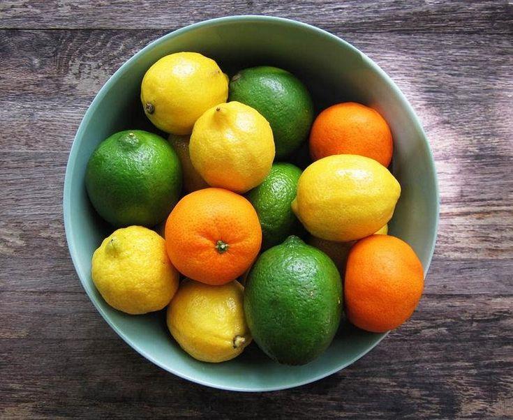 El limón y la naranja aportan mucha vitamina C