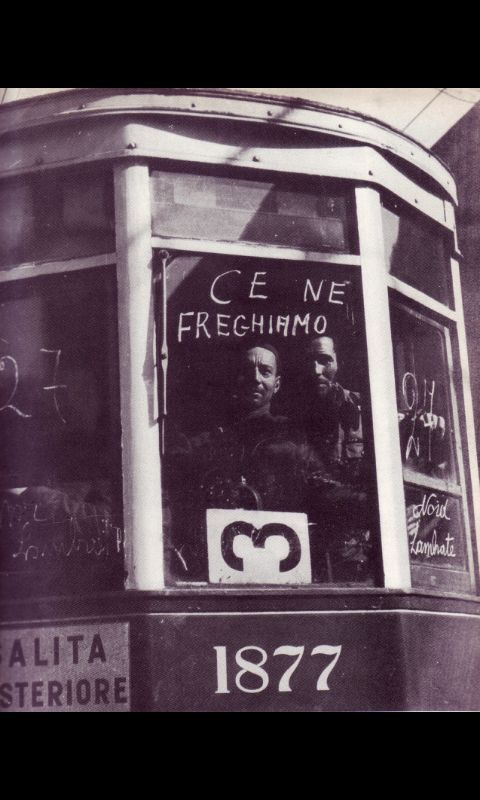 """""""Me ne Frego"""" means """"I don't care"""" and it's the motto of Italian fascists."""