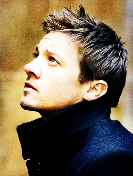 Jeremy Renner. Can't wait to see Renner star in the next episode of the Bourne series.  He was awesome in Hurt Locker and The Town. gms