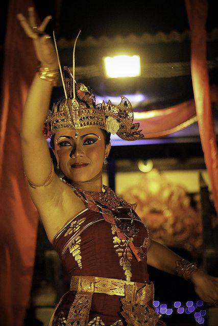 Legong Dancer. Bali