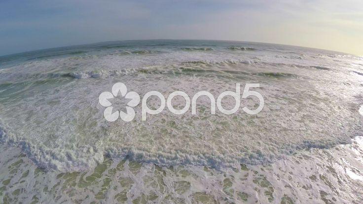 Aerial Shot Pulling Backward Ocean Waves Follow Shot Sandy Beach Drone Footage - Stock Footage | by RyanJonesFilms #aerial #drone #quadcopter #sea #beach #ocean #waves #aerialshot #gopro #phantom #tide #water #sand #travel #horizon #capetown #southafrica