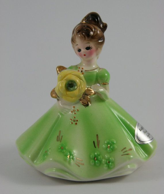 Vintage Josef Original August Birthday Girl by ItsJustTheBeesKnees, $14.50