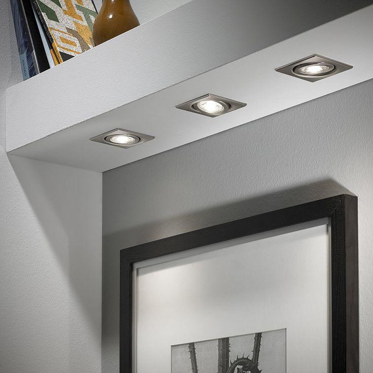 3er Set LED-Einbauleuchten 1450/03/1