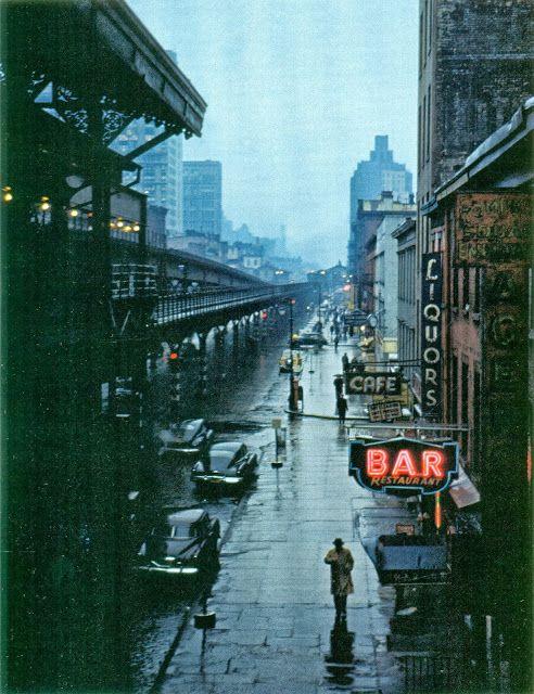 Third Avenue, 1951. Photo by Esther Bubley. #truenewyork #lovenyc