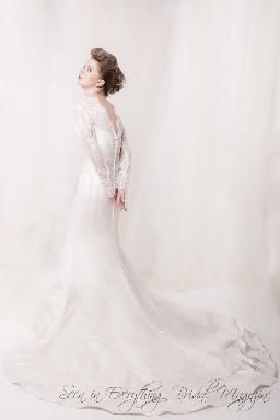 Wedding Gown of the Day by Sarah Houston  www.everythingbridalmagazine.com