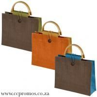 Jute Bag with Bamboo handle www.ccpromos.co.za