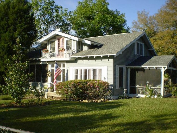 73 best screened porch images on pinterest decks for Craftsman homes for sale in florida