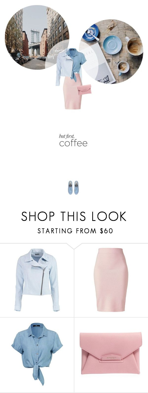 // 1299. Caffeine Fix: Coffee Break. by lilymcenvy on Polyvore featuring Boohoo, Winser London, Givenchy and coffeebreak