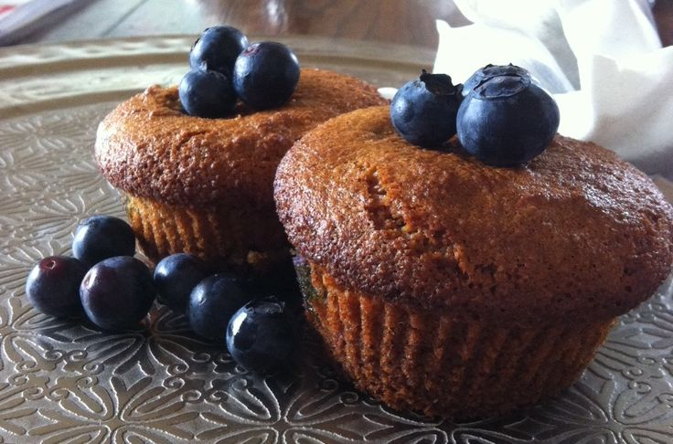 Blueberry muffin (glutenfree, sugarfree, dairyfree)