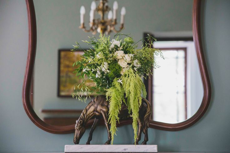 Wild Green Garden Wedding Reception in 19th century Rozalin Palace - combination of classic elegance with twist of wild green. Poland, photography 5czwartych, by artsize.pl