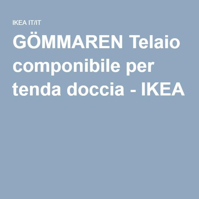 GÖMMAREN Telaio componibile per tenda doccia - IKEA