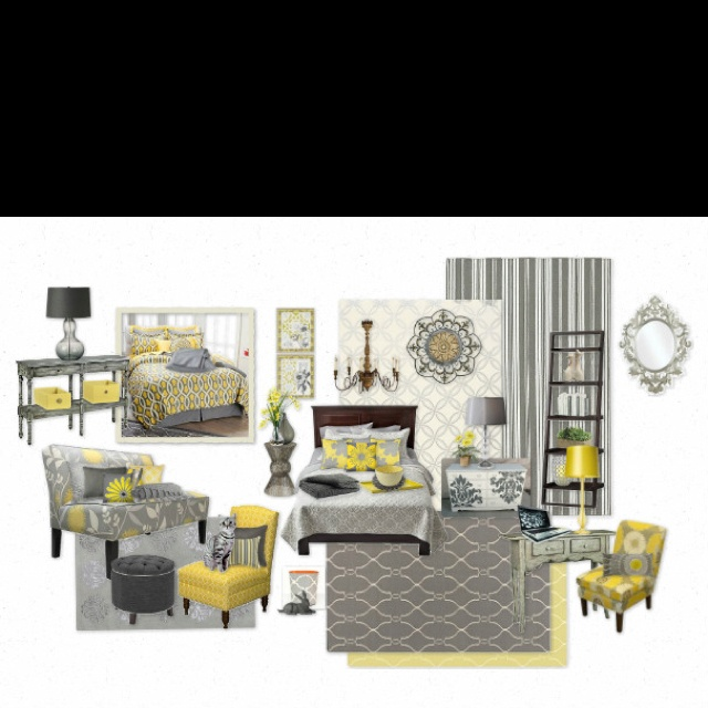 33 best gray white yellow love images on Pinterest Gray yellow
