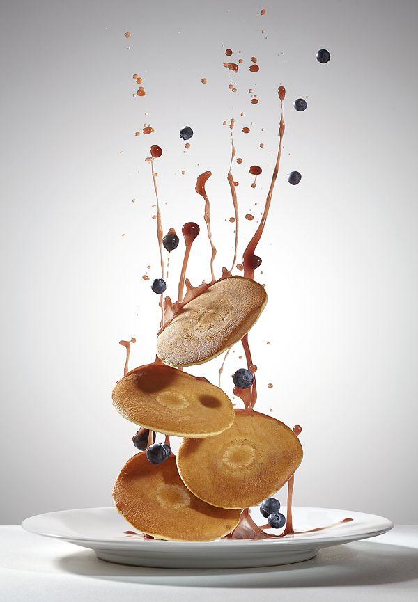 Flying Food by Piotr Gregorczyk, via Behance