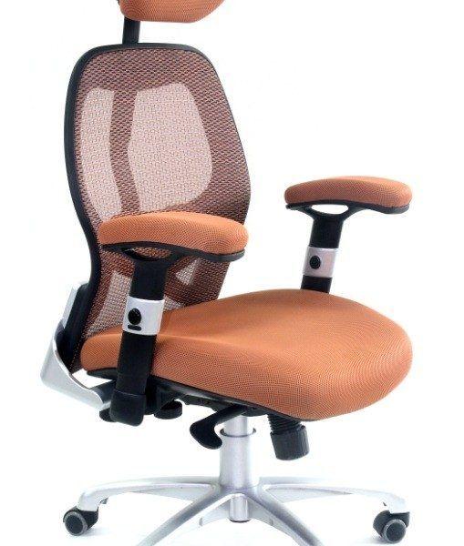 Obrotowy fotel biurowy