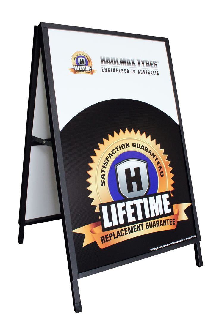 Print crystal-clear colours on corflute inserted sheet from Star Outdoor. Place them in your A-Frame and you've got a interchangeable advertising space which you can take anywhere! Visit www.staroutdoor.com.au for more details on branded A-Frames.