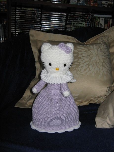 Lemmings Crochet Cuties: Hello Kitty Topsy Turvy Angel ...