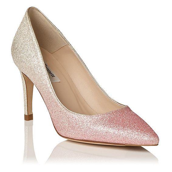Floret Glitter Heel   Court Shoes   Shoes   L.K.Bennett, London