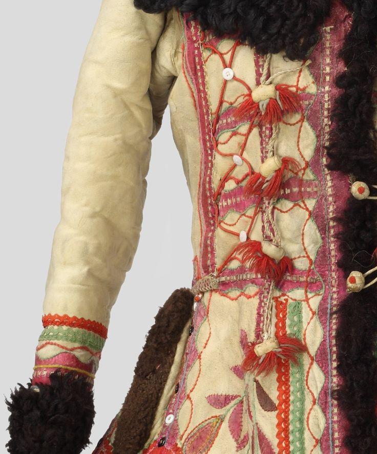 Kożuch lachowski, Muzeum Okręgowe w Nowym Sączu / Sheepskin coat (lachowski), Nowy Sącz District Museum
