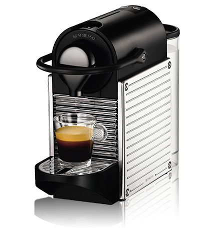 ネスプレッソ コーヒーメーカー ピクシー スチールカラー(C60SS) :: ネスレ製品ラインナップ