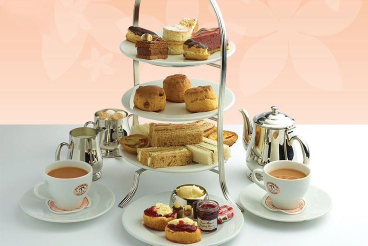 Patisserie Valerie Afternoon Tea for 2 - Over 120 Locations!