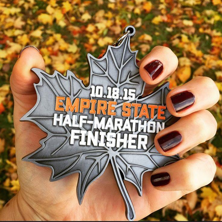Empire State Half Marathon medal