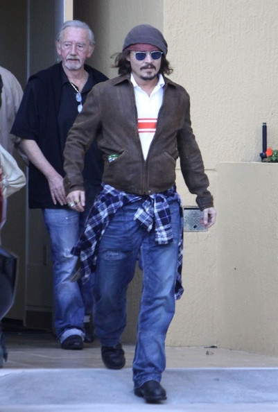 Johnny Depp Photo - The Depp Family in Miami