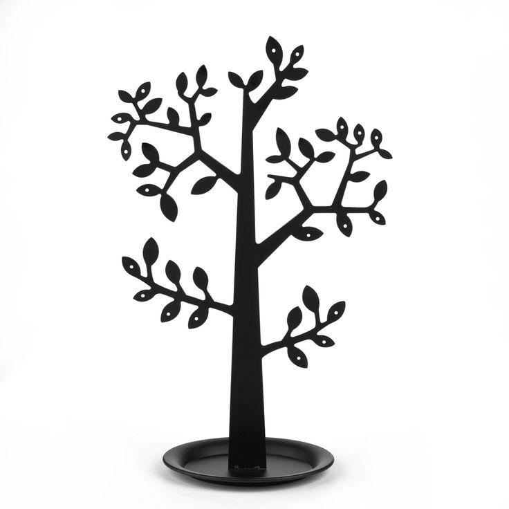 Arbre à bijoux H38,5cm noir Noir - Saule - Objets de décoration - Toute la déco - Décoration d'intérieur - Alinéa